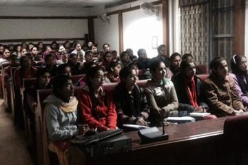 Kanya Maha Vidyalaya (KMV) Collage Seminar