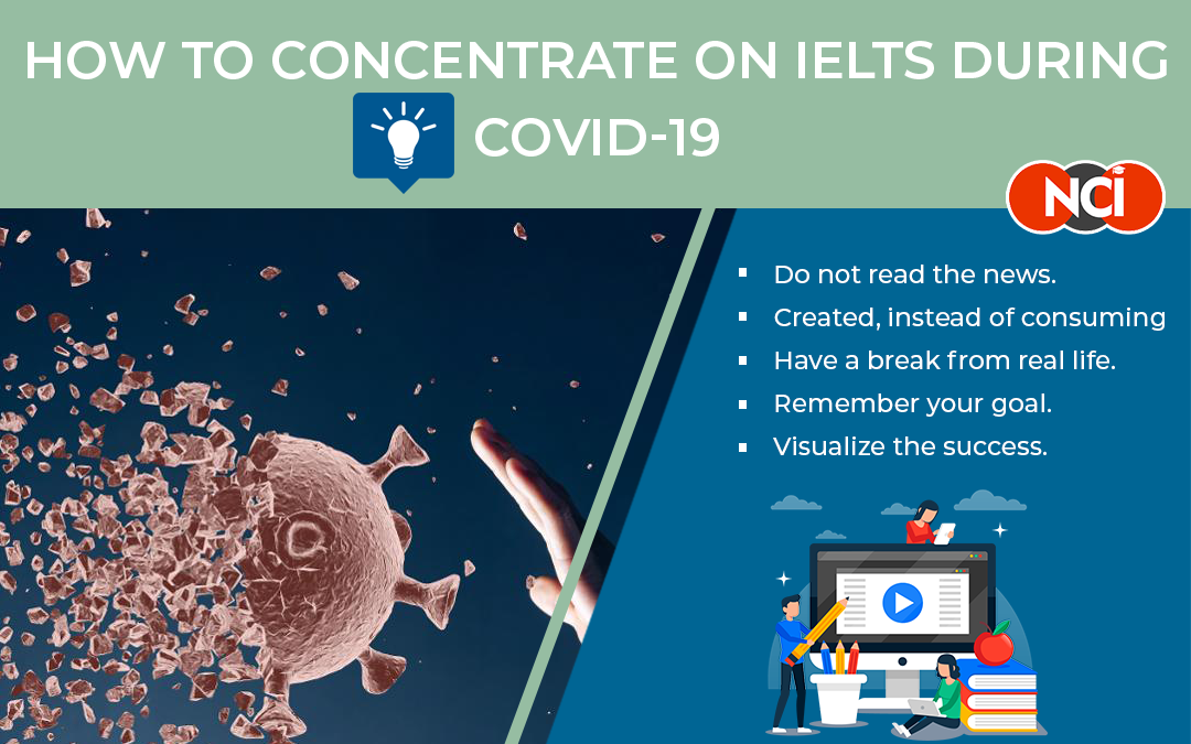 How to Concentrate On IELTS during COVID-19