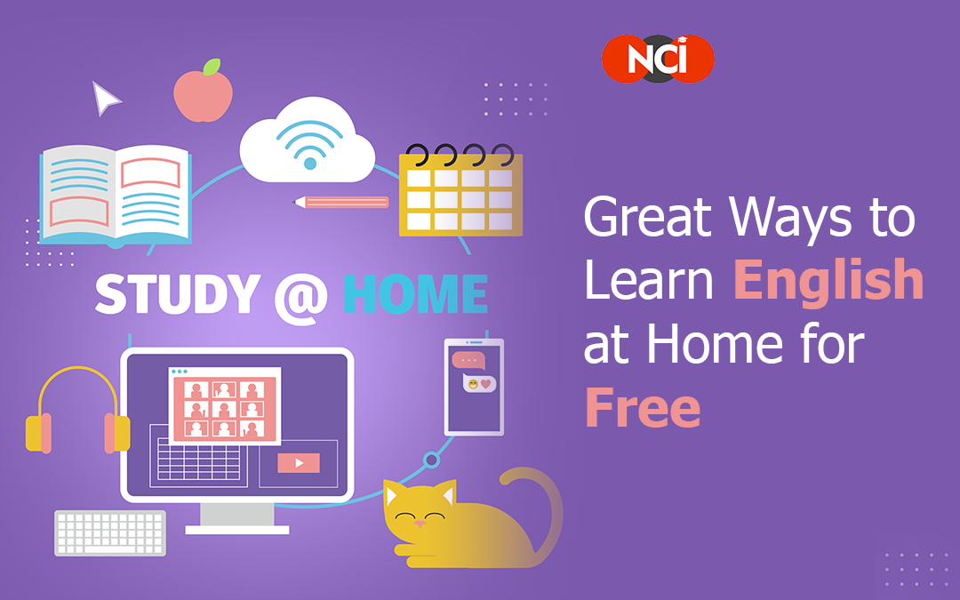 Great Ways to Learn English at Home for Free